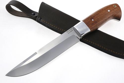 Нож Таран (х12МФ, бубинга) цельнометаллический - купить нож, фото, цена, доставка.